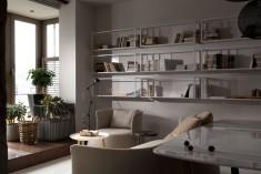 Concrete Finish Studio Apartment Space