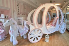 Princes girls bedroom theme