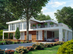 Contemporary Modern House Model Design
