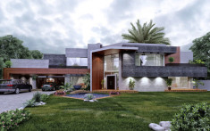 10 Stunning Modern House Models Designs