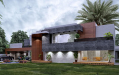Modern House Model Design in Faisalabad