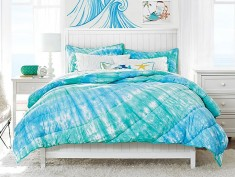 Blue White Kids Bedroom