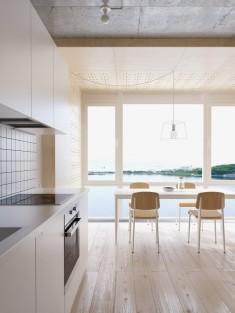 Minimalist Apartment Kitchen / Dining