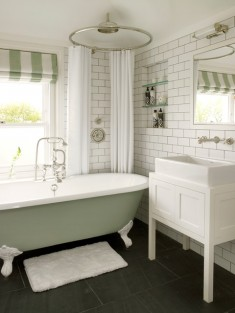 Country bath and shower room ideas