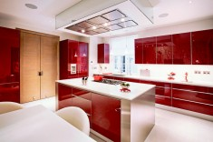 Palace court contemporary kitchen london