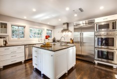 Craftsman cottage kitchen by luke gibson photography