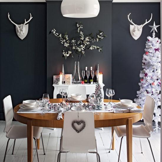 Christmas Dining Room Ideas Home Ideas Home Design Photos