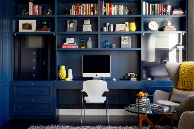 Harlem Apartment Home Office Design