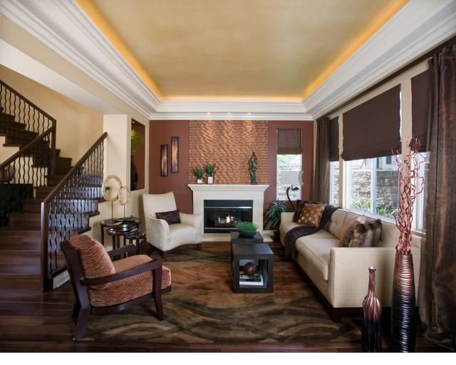 Modern Elegance Contemporary Living Room