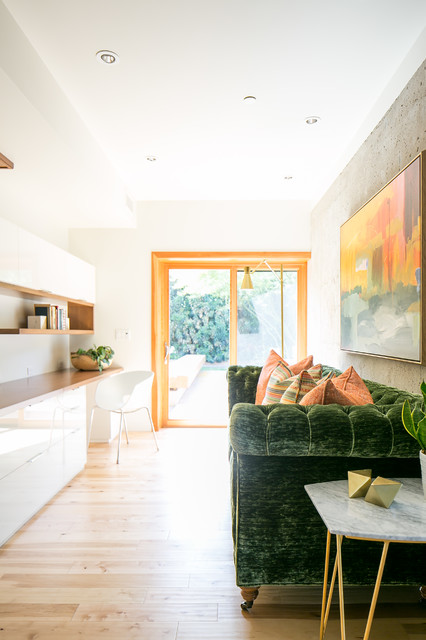 Montecito Midcentury Home Office