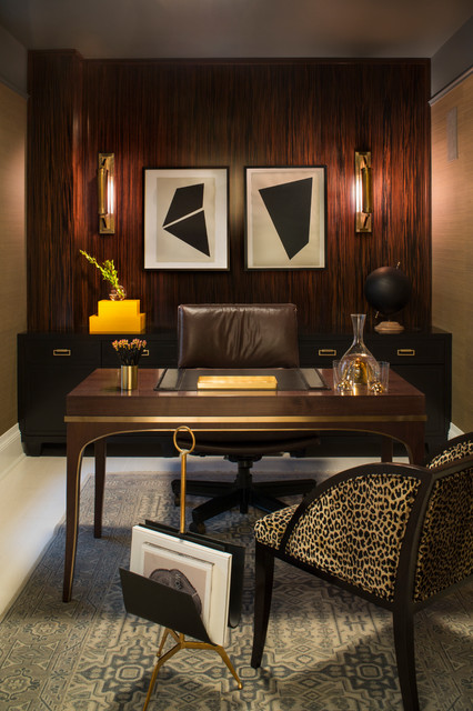 New York Contemporary Home Office