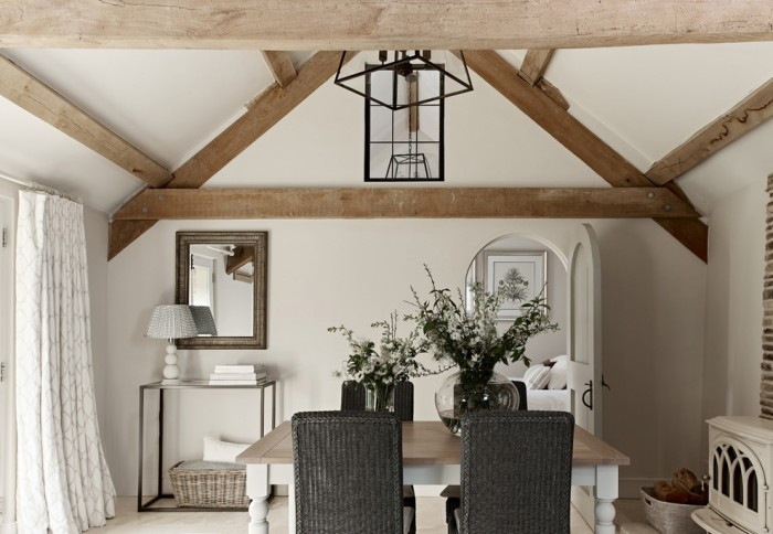 Converted English Farmhouse Dining Room
