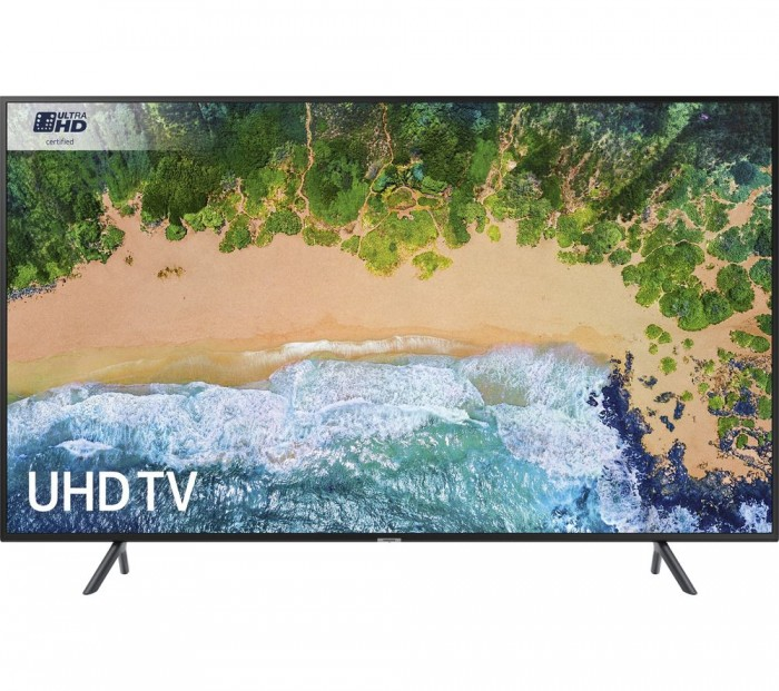 Buy SAMSUNG UE55NU7100 55″ Smart 4K Ultra HD HDR LED TV | Free Delivery | Currys