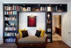 Houzz built in bookcase