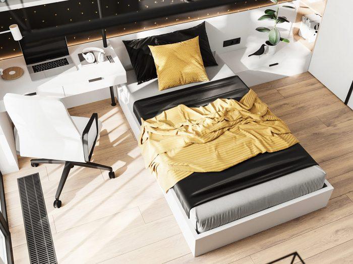 Golden yellow accessories