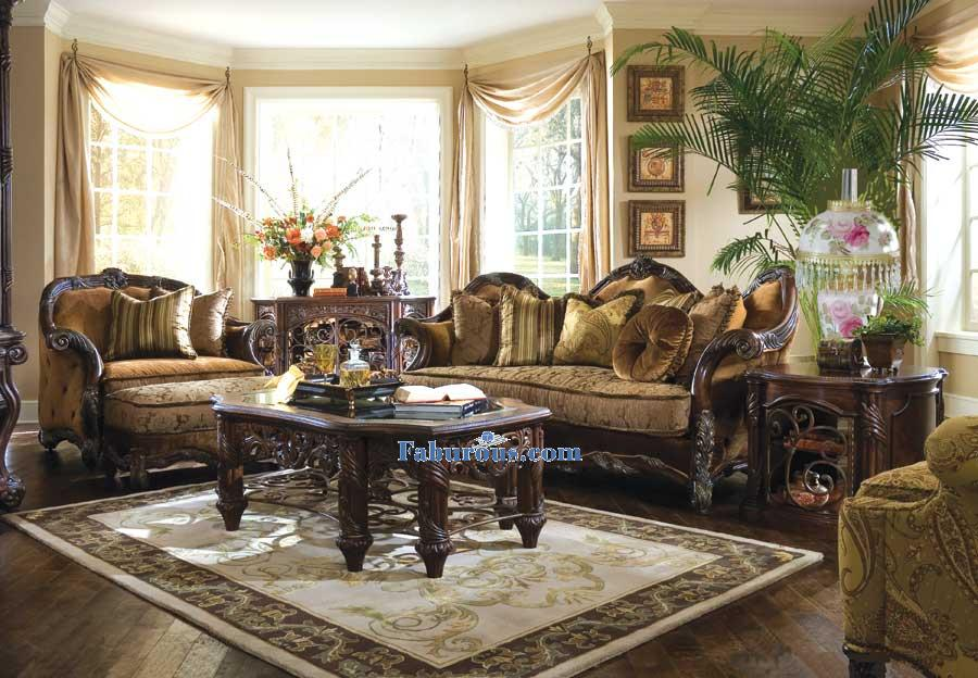 Cornwall Manor sofa  victorian living room furniture