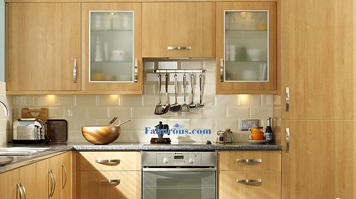 Modern cherry kitchen style design