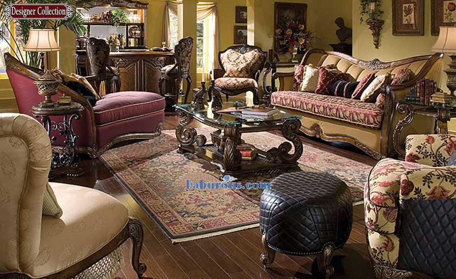 elegant victorian style living room