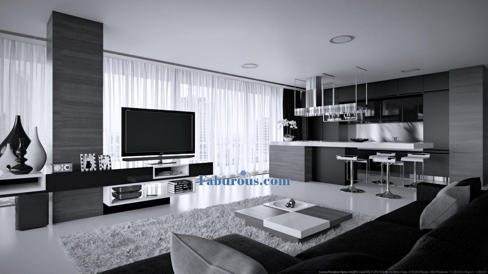 Modern cutting edge room design ideas for Modern living room pics