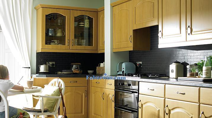 traditional kitchen style with a warm feeling