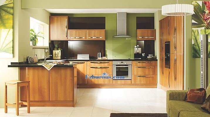 10 stunning european kitchen designs for Kitchen b q cabinets