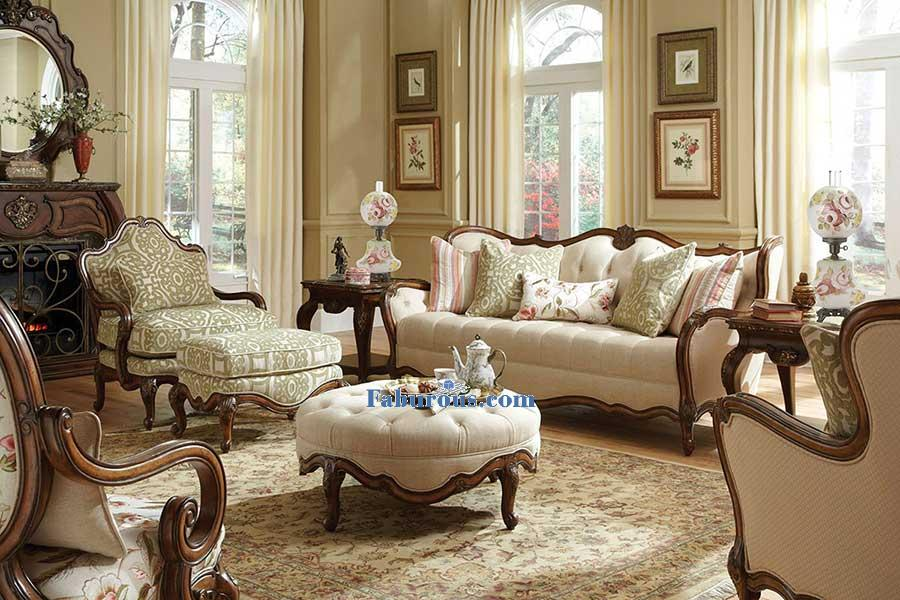 How to create a victorian living room design for French style living room furniture