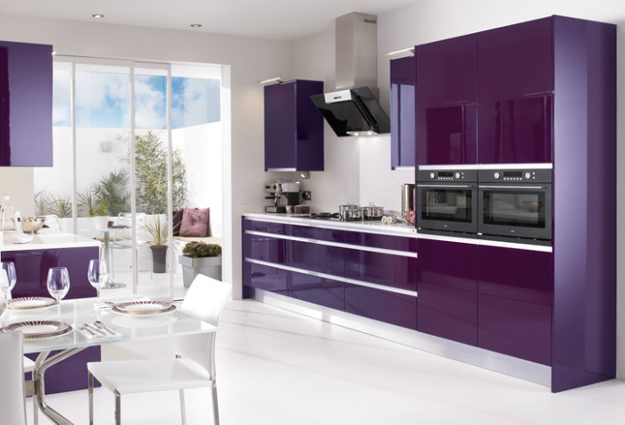 15 high gloss kitchen designs in modular kitchen colours for Kitchen designs and colours schemes