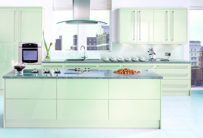 Neopolitan Mint retro Kitchen