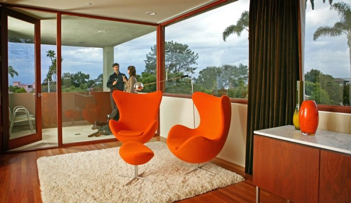Prospect-House-interior-design-with-orange-chairs