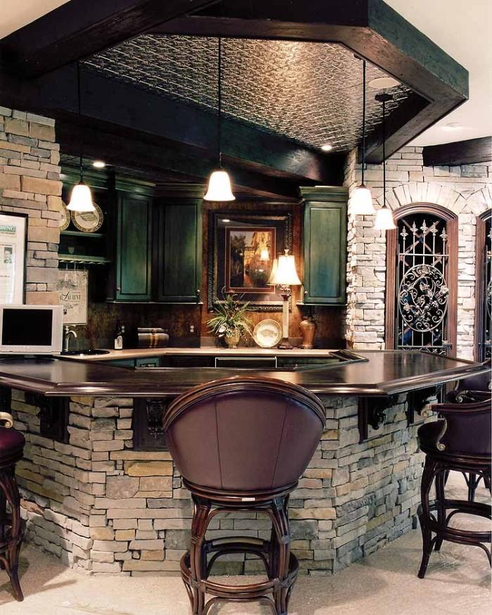 home made bar design