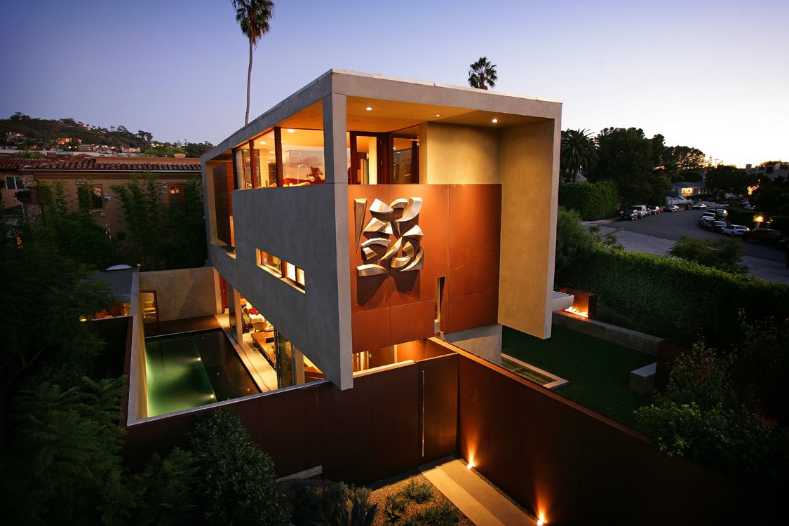 The prospect house in la jolla san diego california for Unique house designs