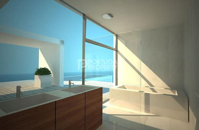 quinta da marinha Sea front villa bathroom sinks and bathtub