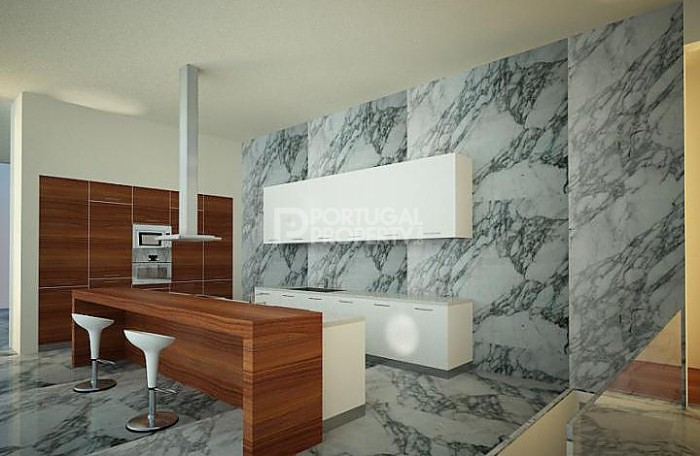 Quinta da Marinha sea side residence Kitchen design