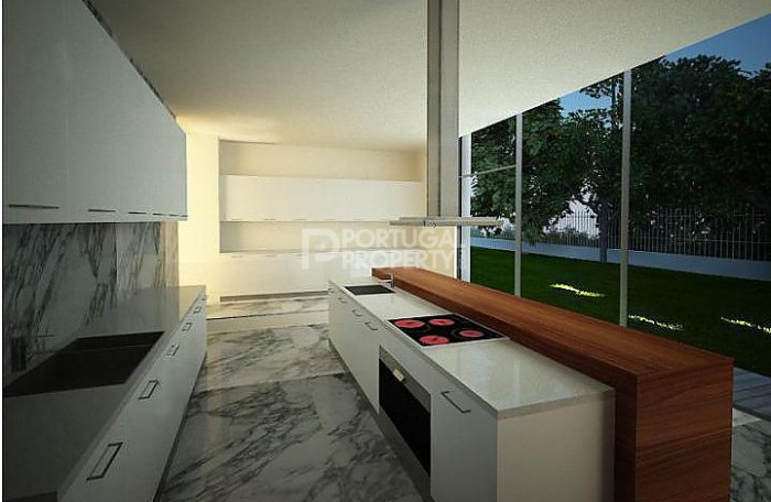 quinta da marinha villa Kitchen design