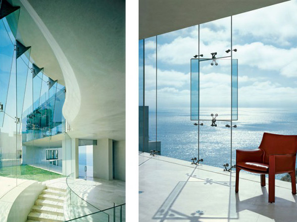 razor residence Interior sea and sky horizons