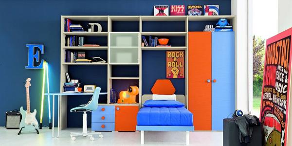 creative kid's room  storage.