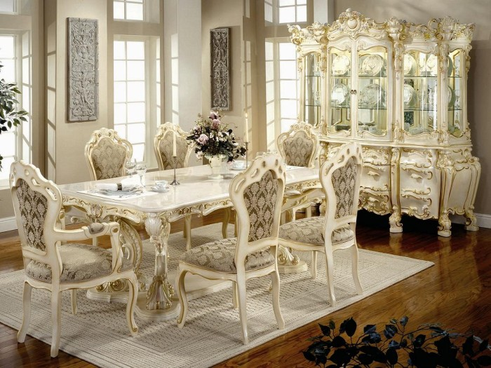 victorian-dining-room-design-with-cultured-marble-top