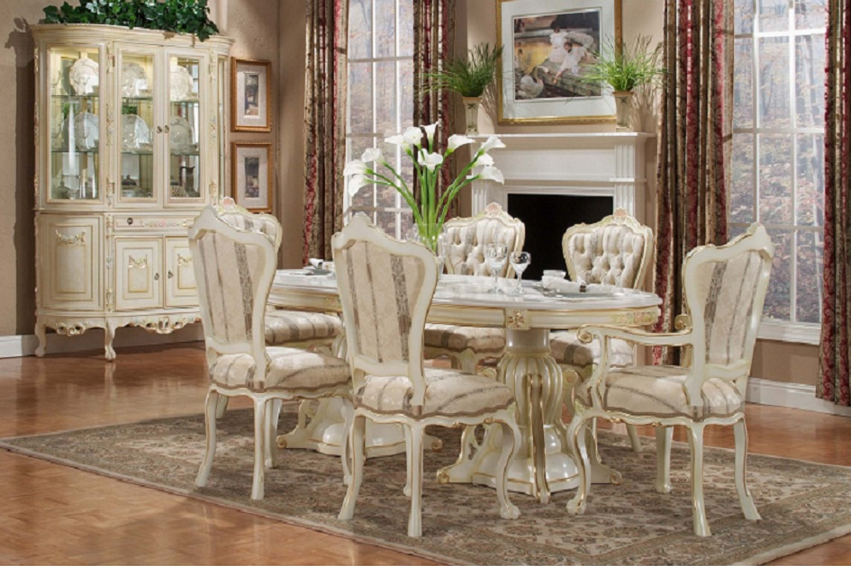 Formal Victorian Dining Room Designs : victorian dining room with marble table from www.faburous.com size 945 x 629 jpeg 224kB
