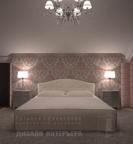 Pink Girl bedroom design