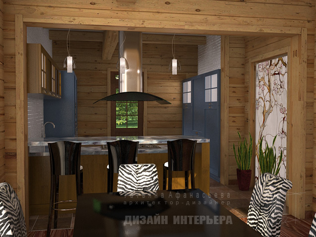 Modern Moscow Two Storey House Interiors