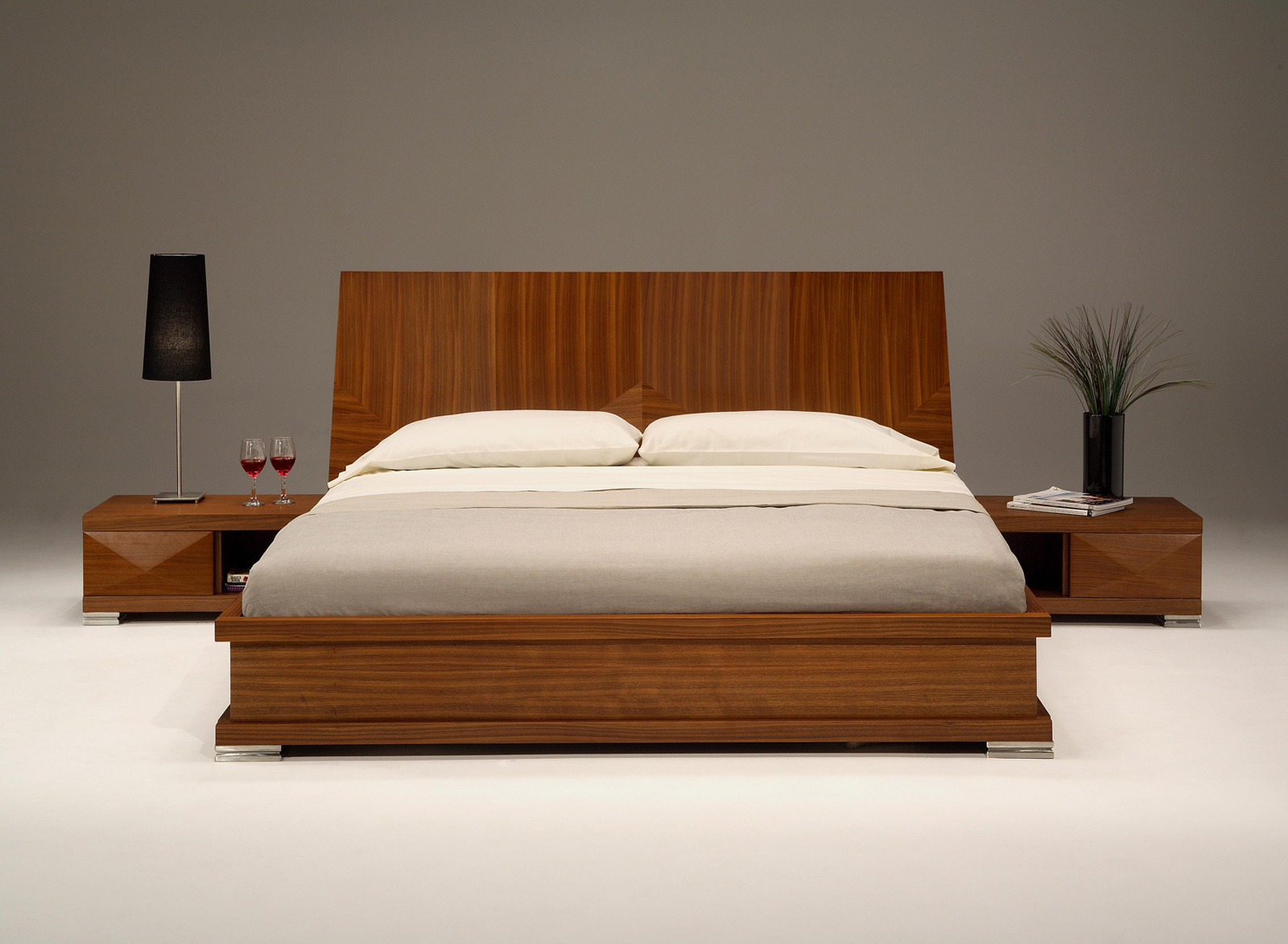 6 inspirational modern bedroom design ideas Wooden bed furniture