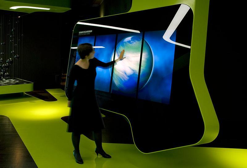 Volkswagen futuristic high tech home design for High tech office design ideas
