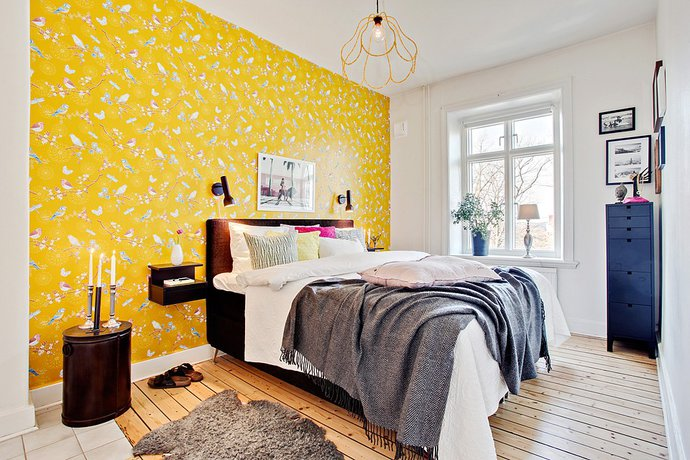 10 - Scandinavian Bedroom
