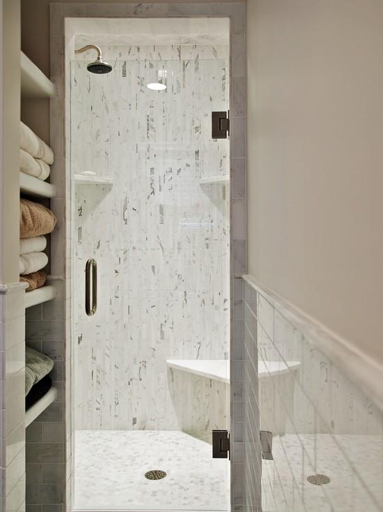 Small shower room decorating ideas - Narrow shower room design ...