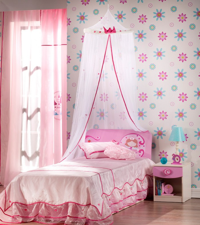 Little Girl Bedroom Color Ideas: 10 Pretty Baby Girl Bedroom Designs For Your Little Angel