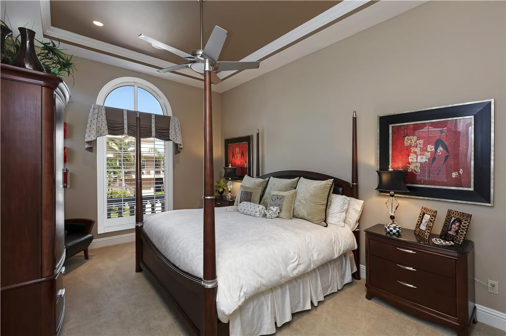 Contemporary Designed Bedroom