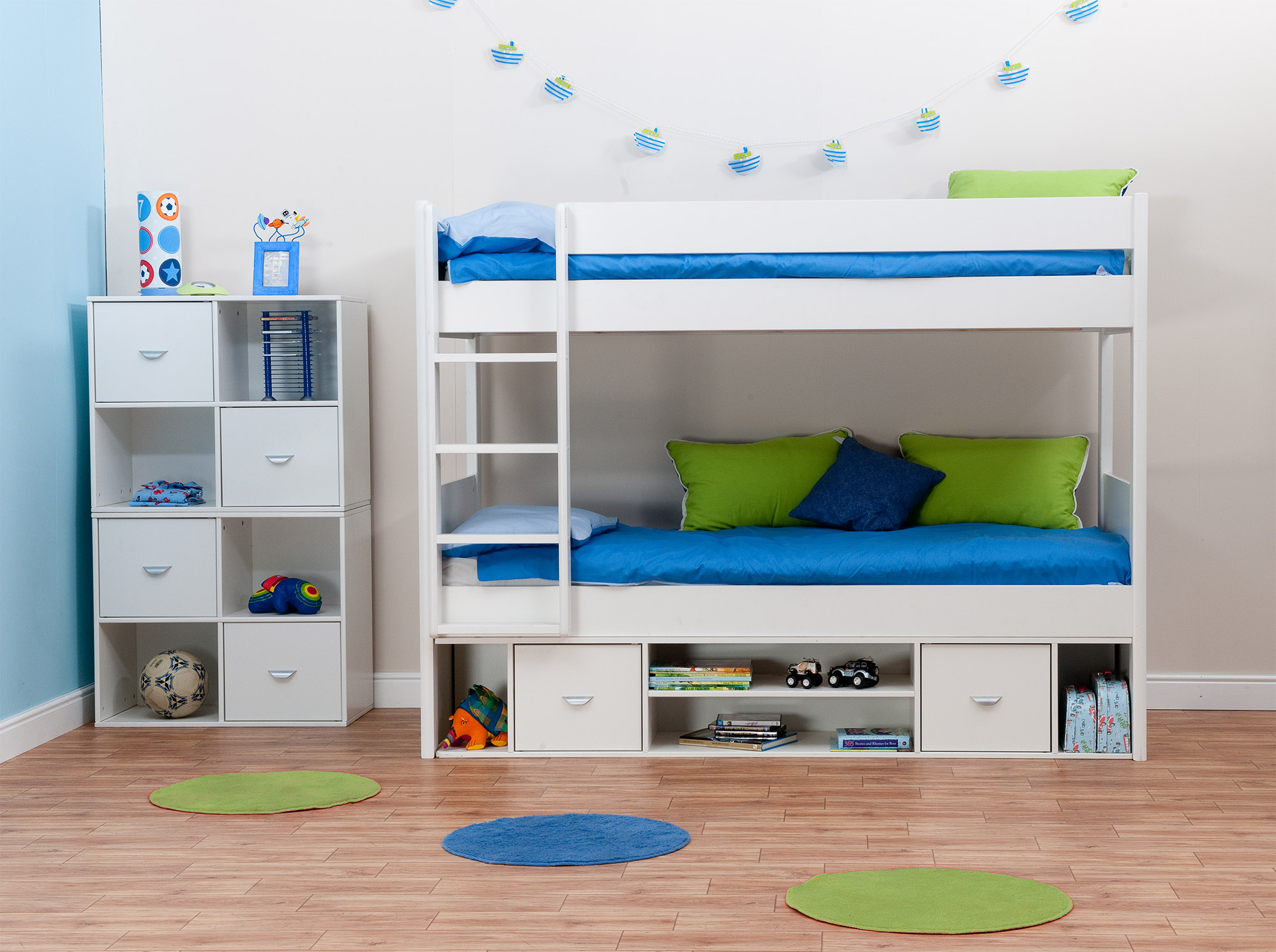 Boy Bedroom Storage: Space Saving Stylish Bunk Beds For Your Home