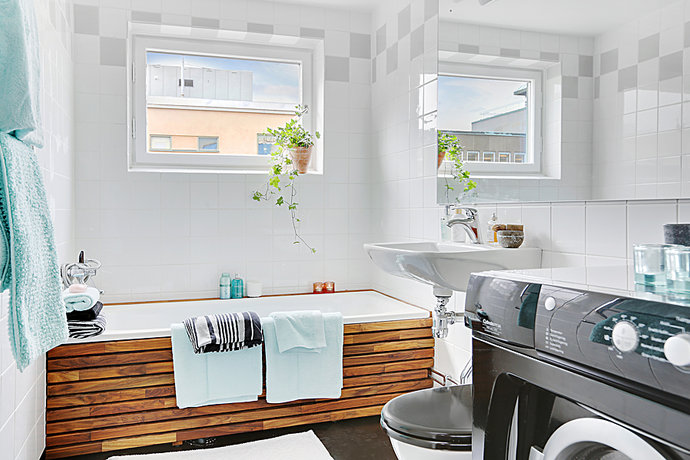 7 - Scandinavian Bathroom - Högalid
