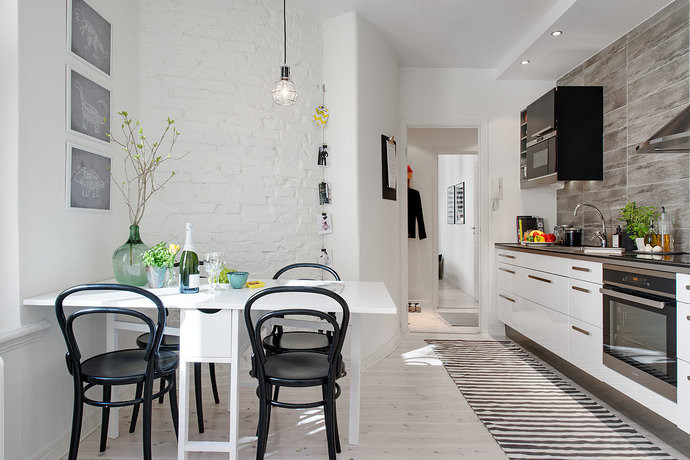 8 - Scandinavian Kitchen Room Interiors Design