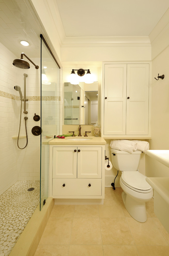 Small bathroom design ideas for Traditional bathroom